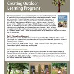 Outdoor Learning Programs