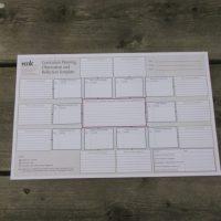 ECCDC's Curriculum Planning Notepad