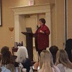 Dr. Jean Clinton speaking