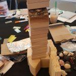 wooden jenga pieces
